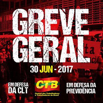 CENTRAIS MARCAM NOVA GREVE GERAL PARA O DIA 30/06.